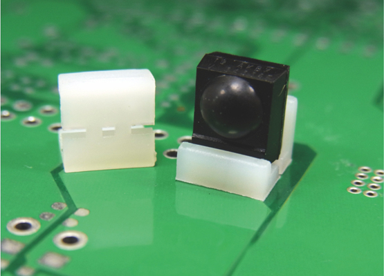 PLASTIC PARTS for PCB 06   WASHERS and COVER TRA-1